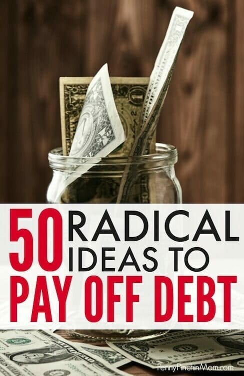 ideas to help find money to pay off debt